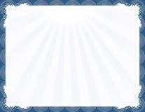 μπλε κομψό πλαίσιο μοντέρν&o ελεύθερη απεικόνιση δικαιώματος
