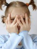 μπλε κορίτσι 5 Στοκ φωτογραφίες με δικαίωμα ελεύθερης χρήσης