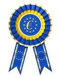 μπλε κορδέλλα βραβείων διανυσματική απεικόνιση