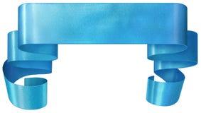 μπλε κορδέλλα Στοκ Εικόνα