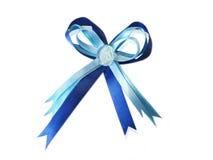 μπλε κορδέλλα στοκ εικόνες