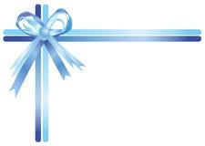 μπλε κορδέλλα διανυσματική απεικόνιση
