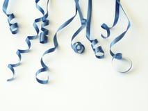μπλε κορδέλλες Στοκ φωτογραφίες με δικαίωμα ελεύθερης χρήσης