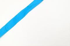 μπλε κορδέλλα Στοκ εικόνες με δικαίωμα ελεύθερης χρήσης