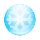 μπλε κουμπί Στοκ φωτογραφίες με δικαίωμα ελεύθερης χρήσης
