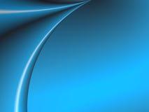 μπλε κουρτίνα Στοκ Εικόνα