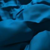 μπλε κουρτίνα Στοκ φωτογραφίες με δικαίωμα ελεύθερης χρήσης