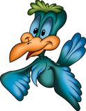 μπλε κούκος Στοκ Εικόνες
