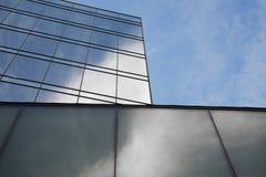 μπλε κτήρια Στοκ Εικόνες