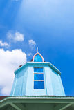 Μπλε κτήρια Στοκ Εικόνα