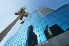 μπλε κτήριο σύγχρονο Στοκ Φωτογραφίες