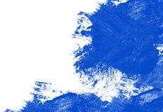 Μπλε κτυπήματα στοκ φωτογραφία