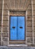 Μπλε κυρία είσοδος Στοκ φωτογραφία με δικαίωμα ελεύθερης χρήσης
