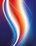 μπλε κόκκινο ανασκόπησης απεικόνιση αποθεμάτων