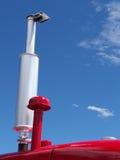 μπλε κόκκινο λευκό Στοκ Φωτογραφίες