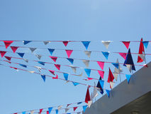 μπλε κόκκινο λευκό Στοκ Εικόνα