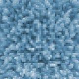 μπλε κύβοι Στοκ Εικόνα