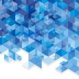 Μπλε κύβοι Στοκ φωτογραφία με δικαίωμα ελεύθερης χρήσης
