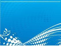 μπλε κύματα σχεδίου απεικόνιση αποθεμάτων