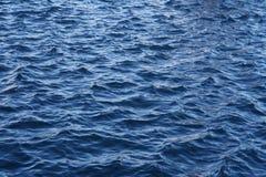 μπλε κύματα ύδατος αποτελεσμάτων Στοκ Φωτογραφία