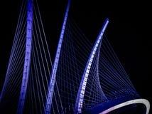 Μπλε κύματα Στοκ εικόνα με δικαίωμα ελεύθερης χρήσης