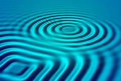 μπλε κύματα Στοκ φωτογραφία με δικαίωμα ελεύθερης χρήσης