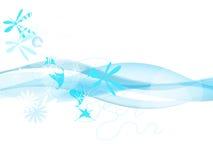 μπλε κύματα Στοκ φωτογραφίες με δικαίωμα ελεύθερης χρήσης