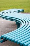μπλε κύμα καθισμάτων Στοκ Εικόνα