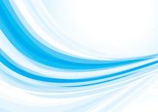 μπλε κύμα Στοκ Φωτογραφίες