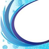 μπλε κύμα Στοκ εικόνα με δικαίωμα ελεύθερης χρήσης