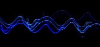 μπλε κύμα Στοκ εικόνες με δικαίωμα ελεύθερης χρήσης