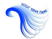 μπλε κύμα απεικόνιση αποθεμάτων