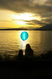 μπλε λίγα Στοκ φωτογραφία με δικαίωμα ελεύθερης χρήσης