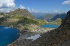 Μπλε λίμνες της Sophia Στοκ εικόνα με δικαίωμα ελεύθερης χρήσης
