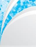 μπλε λευκό ανασκόπησης Διανυσματική απεικόνιση