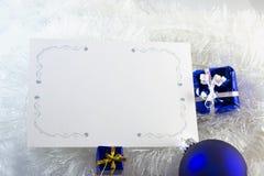 μπλε λευκό διακοσμήσε&omeg Στοκ εικόνες με δικαίωμα ελεύθερης χρήσης