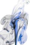 μπλε λευκό καπνού Στοκ Εικόνα
