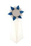 μπλε λευκό κορδελλών Στοκ φωτογραφία με δικαίωμα ελεύθερης χρήσης