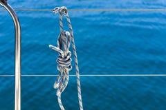 μπλε λευκό λινού Στοκ φωτογραφίες με δικαίωμα ελεύθερης χρήσης