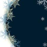 μπλε λευκό μορφής ανασκό&pi Στοκ Εικόνα