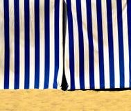 μπλε λευκό σκηνών εισόδω&nu Στοκ Εικόνα