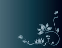 Μπλε λουλούδι Στοκ Εικόνες