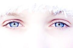 μπλε μάτια στοκ φωτογραφία