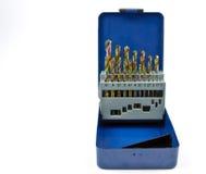 μπλε μέγεθος τρυπανιών κ&iota Στοκ εικόνα με δικαίωμα ελεύθερης χρήσης