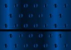 μπλε μέταλλο ανασκόπηση&sigmaf Στοκ Φωτογραφίες
