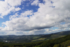 μπλε μακρινός Στοκ φωτογραφία με δικαίωμα ελεύθερης χρήσης