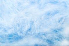 μπλε μαλλί ανασκόπησης Στοκ Εικόνα