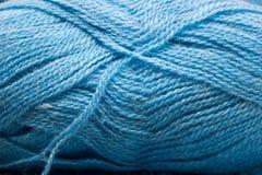 μπλε μαλλί δεσμίδων Στοκ εικόνες με δικαίωμα ελεύθερης χρήσης