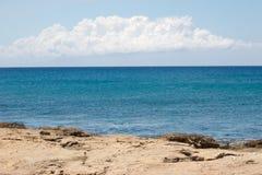 μπλε μεγάλα θαλάσσια βάθη Στοκ φωτογραφία με δικαίωμα ελεύθερης χρήσης