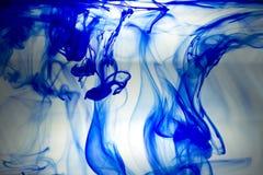 Μπλε μελάνι Στοκ Εικόνες